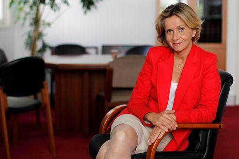Valérie Pécresse au Conseil Régional d'Ile de France.