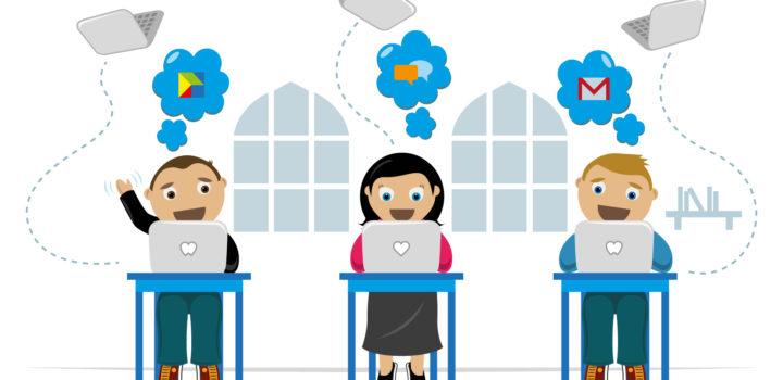 """Un portail éducatif 2.0 basé sur """"Google Apps Education"""""""